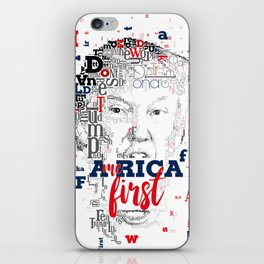Donald Trump America first iPhone Skin