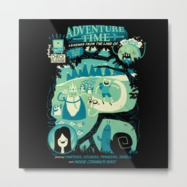 Legends from the Land of Ooo Metal Print