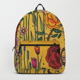 Vintage garden Japan Backpack