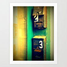 mailboxes Art Print