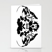 rorschach Stationery Cards featuring Rorschach  by yayanastasia