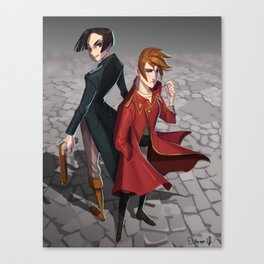 Kell and Lila Canvas Print