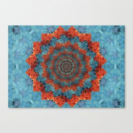 Blossoming woe Canvas Print