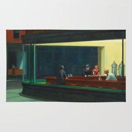 NIGHTHAWKS - EDWARD HOPPER Rug