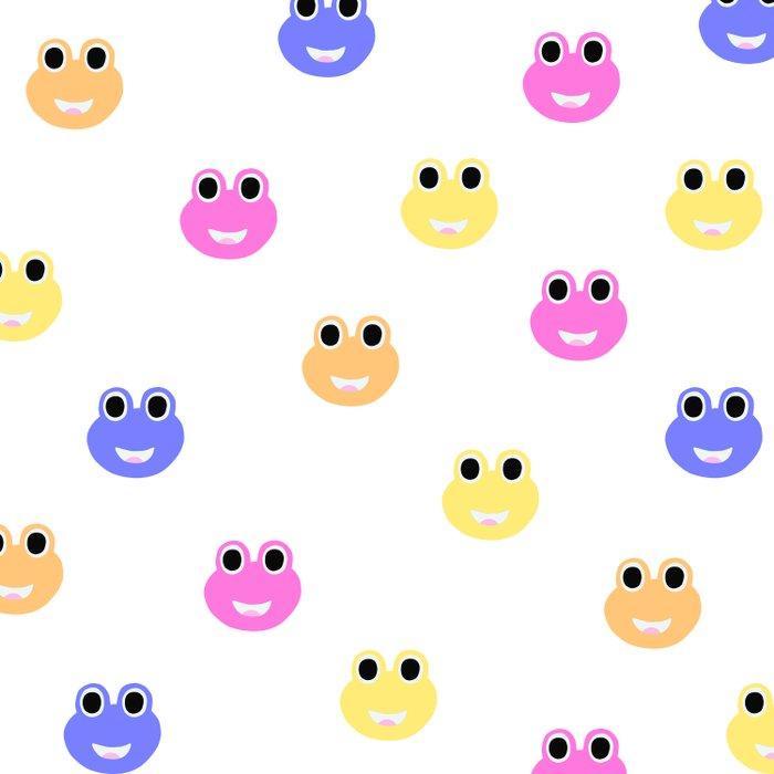 Happy Frogs Duvet Cover