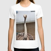 ostrich T-shirts featuring Ostrich :) by IowaShots