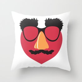 Love in Disguise Throw Pillow