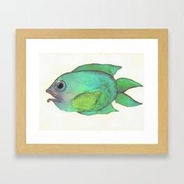 Blubblub Framed Art Print