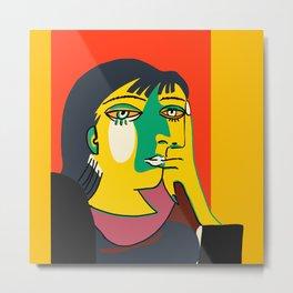 Picasso - Woman's head #7 Metal Print