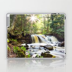 Upper Chapel Falls at Pictured Rocks National Lakeshore - Michigan Laptop & iPad Skin