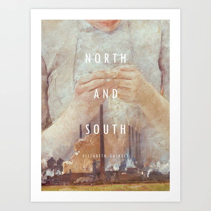 19th Century Women Writers - North and South Kunstdrucke
