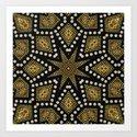 Black Gold | Geometric Tribal by webgrrl