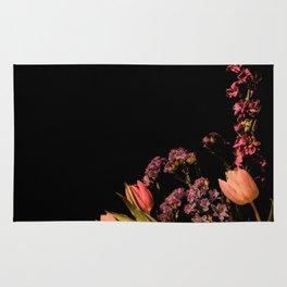 Floral Corner Rug