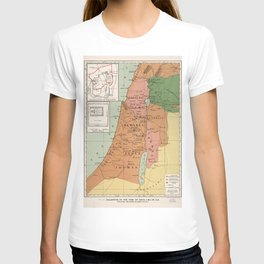 Palestine in the time of Jesus, 4 B.C. - 30 A.D T-shirt