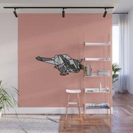 Geometric Sugar Glider Wall Mural
