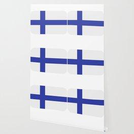 Finland flag Wallpaper