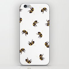 Bumble Bee Pattern iPhone & iPod Skin