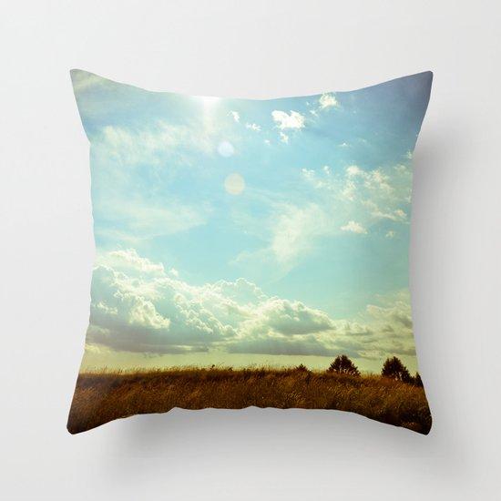 Shooting the Breeze Throw Pillow
