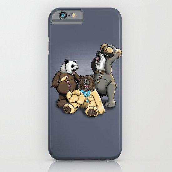 Three Angry Bears iPhone & iPod Case