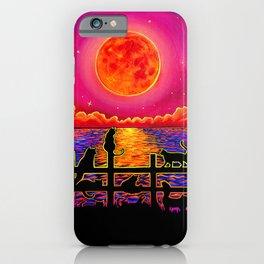Moonrise Meeting iPhone Case