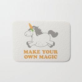 Make Your Own Magic - Pony Turned Unicorn Bath Mat