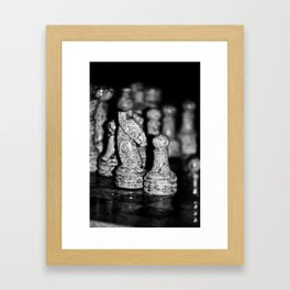 Knight in shining armour Framed Art Print