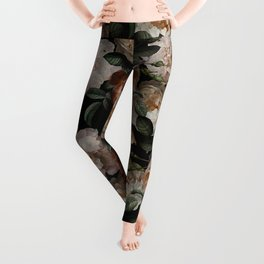 Golden Jan Davidsz. de Heem Roses Leggings