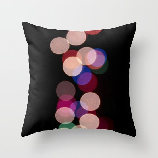 Color Fall Throw Pillow