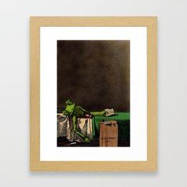 The Death of La Grenouille  Framed Art Print