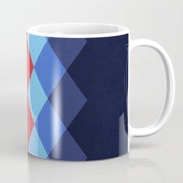 Retro Diamonds Coffee Mug
