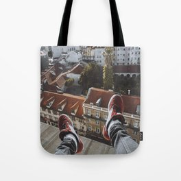 Legs w/ a view Tote Bag
