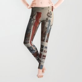 Waterlogged Leggings