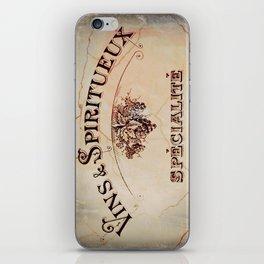 Vins & Spiritueux iPhone Skin