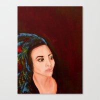 headdress Canvas Prints featuring headdress by Rory Eastman