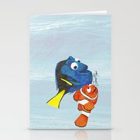 nemo Stationery Cards featuring Finding Nemo by Larissa