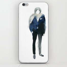 The Sartorialist Sketches 6 iPhone Skin