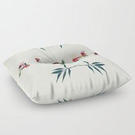 Aloha in Flowers Floor Pillow
