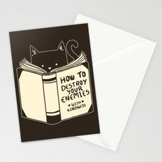 How To Destroy Your Enemies With Kindness Stationery Cards