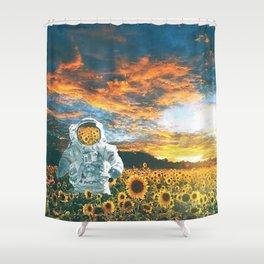 In a galaxy far far away Shower Curtain