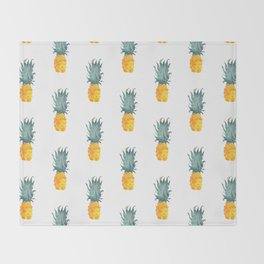 Pineapple Pattern Throw Blanket