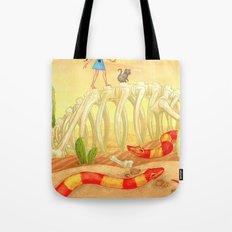 The Deadly Desert Tote Bag