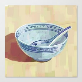 The Bowl You Grew Up With Canvas Print
