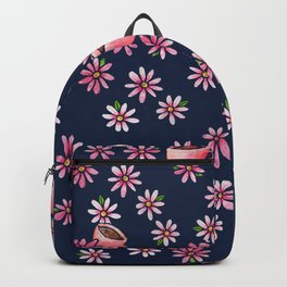 Coffee Lovers floral Backpack