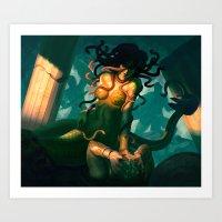 Gorgons Eye Art Print