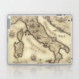 Vintage map of Italy Laptop & iPad Skin