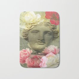 Venera and flowers Bath Mat