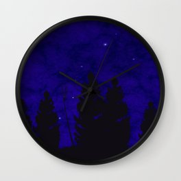 Worlds much like Ours Wall Clock