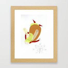 elf jung Framed Art Print