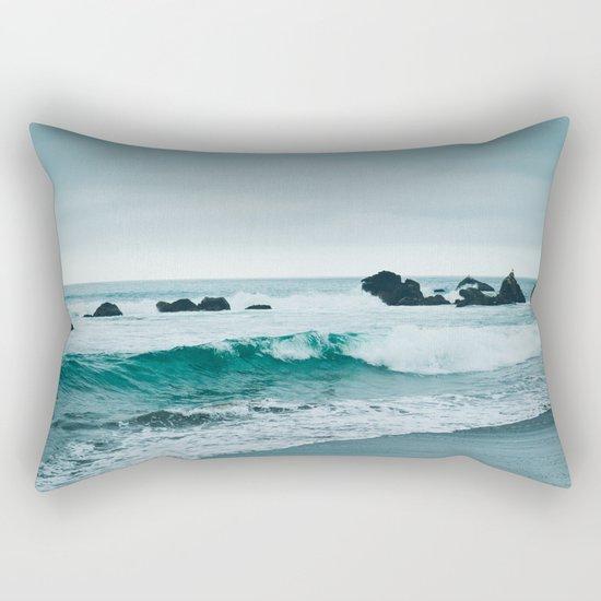 Pacific Ocean Rectangular Pillow