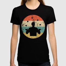 Juggling Vintage Retro Juggler T-shirt
